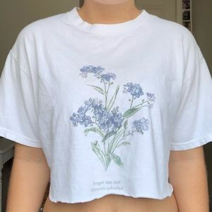 brandy melville forget me not top